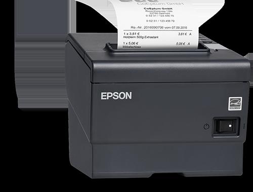 Thermopapier-Bondrucker von Epson | orgaMAX Bürosoftware