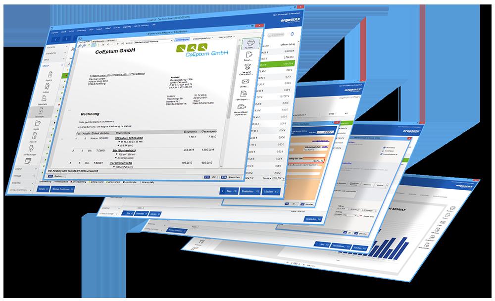 orgaMAX Bürosoftware