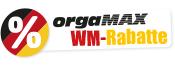 orgaMAX WM-Rabatte