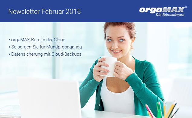 Newsletter Februar 2015
