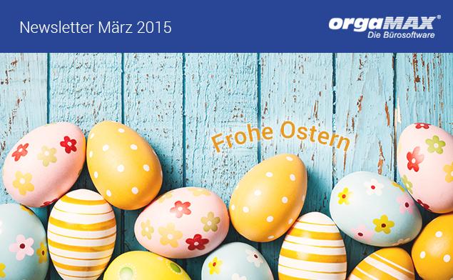 Newsletter März 2015