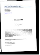 Script Internetrecht