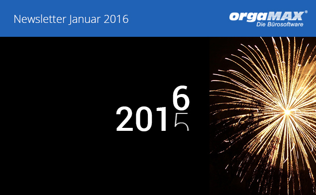 Newsletter Januar 2016