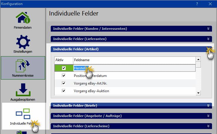 Online- Vorlagen: Definition individueller Felder | orgaMAX Praxistipp