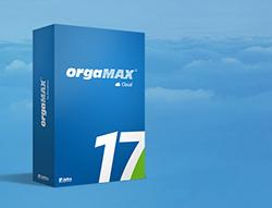 Abbildung Produktkarton: orgaMAX Cloud