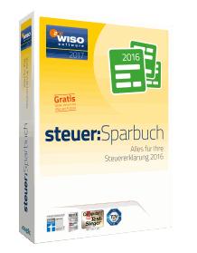 WISO Steuer:Sparbuch 2017 Packshot | orgaMAX Bürosoftware