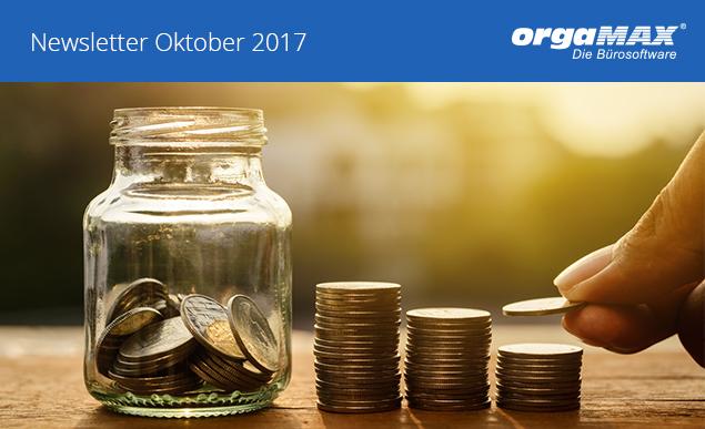 orgaMAX Newsletter Oktober 2017