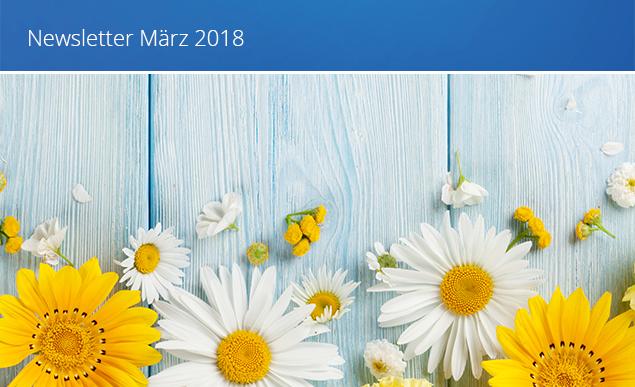 Newsletter Titelbild März 2018