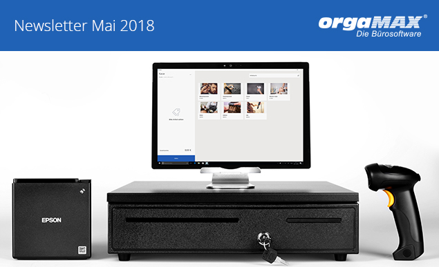 orgaMAX Newsletter Header Mai 2018