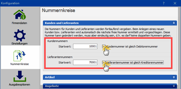 nummernkreise Screenshot